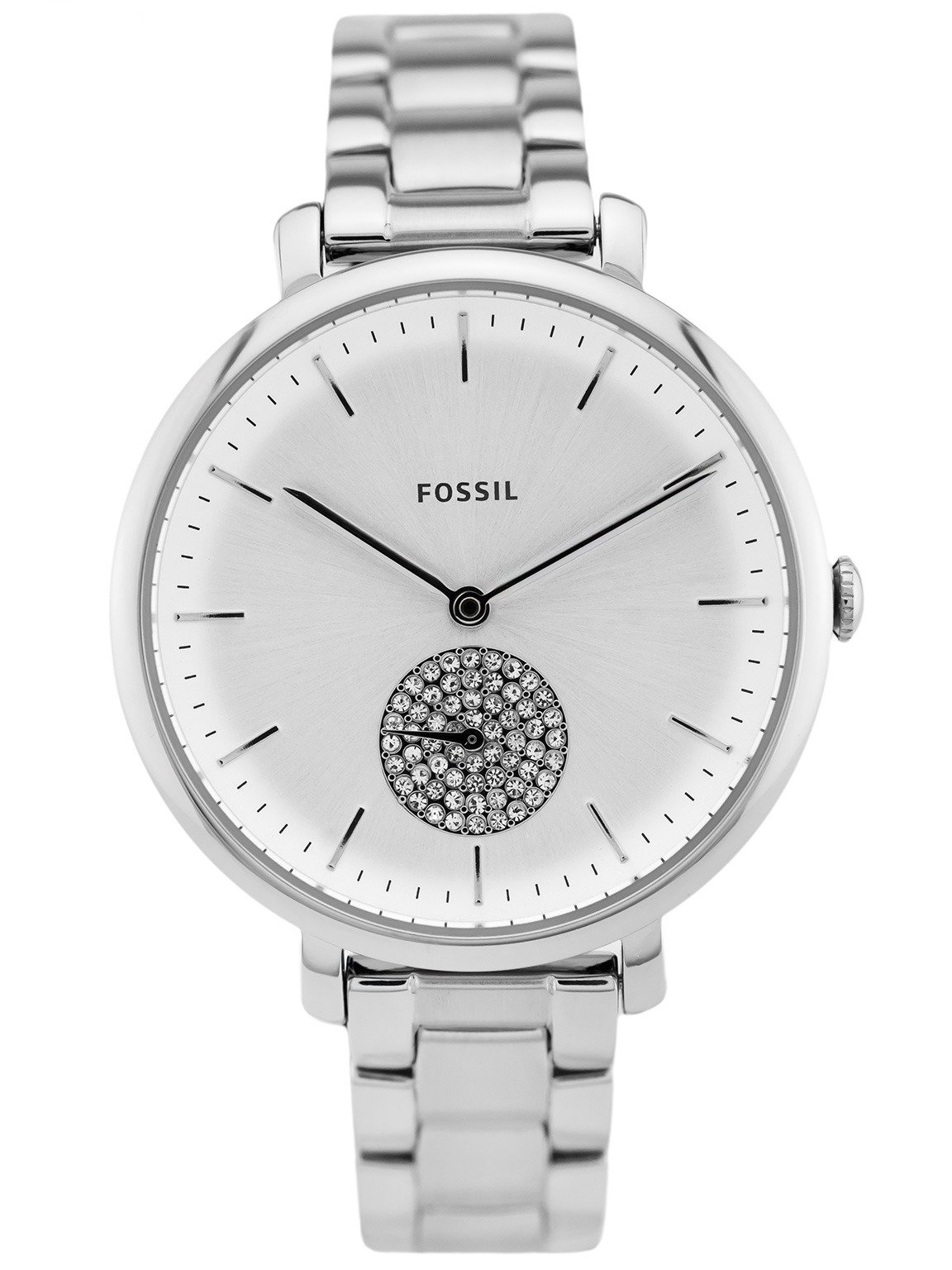 zegarek fossil srebrny na reku