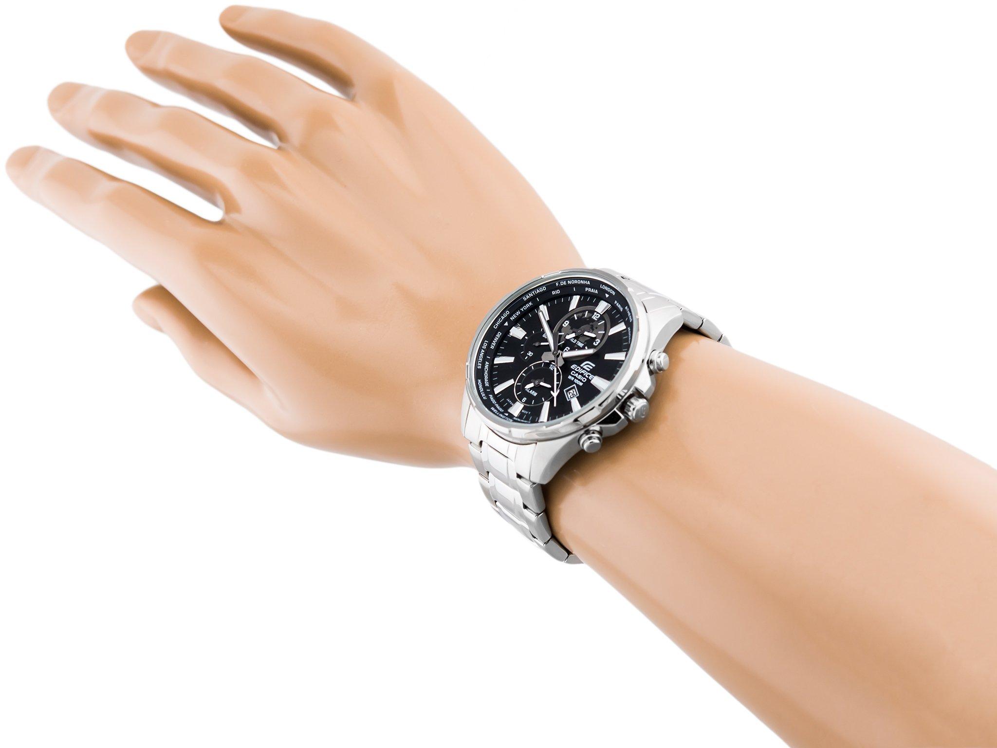 Zegarek męski CASIO EFR 304D 1AV 429,00 zł cena tanio