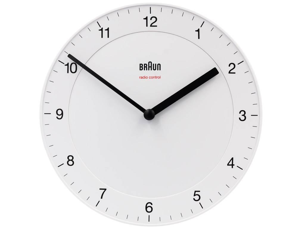Zegar ścienny Braun BC06W-DCF